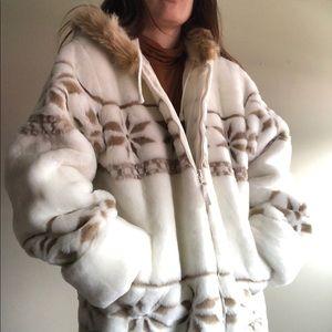 Eskimo Faux Fur Western winter jacket